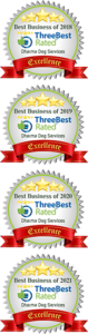 Dharma Dog is one of the three best rated grooming services